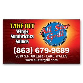 "Re-Stick-It Decal (2""x3.5"") Business Card-Square Corners"