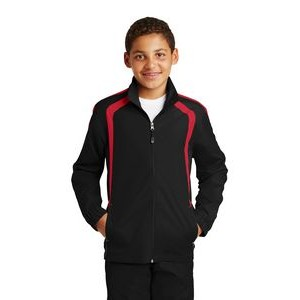 Sport-Tek® Youth Colorblock Raglan Jacket