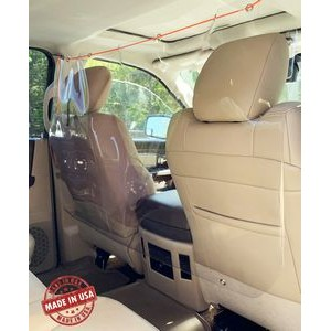 Sneeze Guard Partition Wall for Vehicles