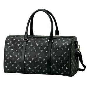 Black Lamborghini Duffel Bag