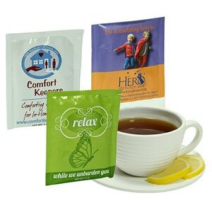 Individual Custom Printed Tea Bag (Direct Printing)