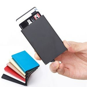 Auto Pop-up RFID Credit Card Case