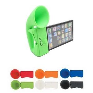 Mini Silicone Cell Phone Megaphone