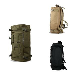 Outdoor 3 in 1 Multi Functional Cylinder backpack