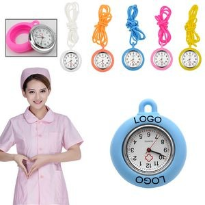 Silicone Pocket Watch For Nurse Or Child