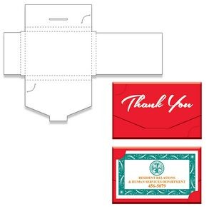 "Thank You Gift Card Box (3 3/4""x 2 1/2""x1/4"")"
