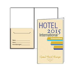 Offset Large Paper Stock Key Card Holder