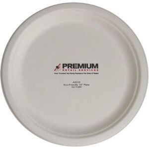 "10"" Eco Friendly Plates - High Lines"