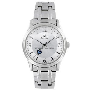 Bulova Men's Corporate Collection Silver-Tone Bracelet Watch