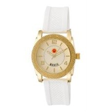 ABelle Promotional Time Maverick Ladies' Gold Watch w/ Rubber Strap