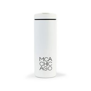 MiiR® Vacuum Insulated Travel Tumbler - 16 Oz. - White Powder