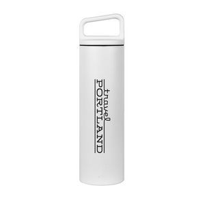 MiiR® Vacuum Insulated Wide Mouth Bottle - 20 Oz. - White Powder