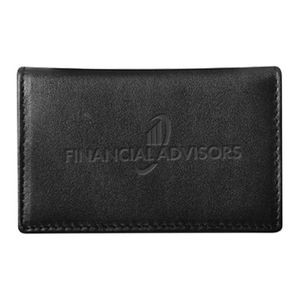Deluxe Gusseted Business Card Casesecure Tech