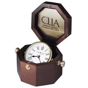 Howard Miller Oceana Gimbaled Windsor Octagon Captain's Clock