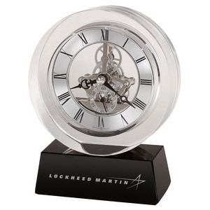 Howard Miller Fusion optical crystal table clock