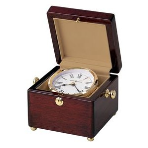 Howard Miller Bailey Rosewood Hall Rectangle Box Clock