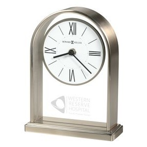 Howard Miller Jefferson metal arch table clock