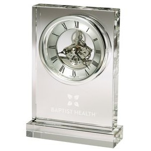 Howard Miller Brighton crystal tabletop clock
