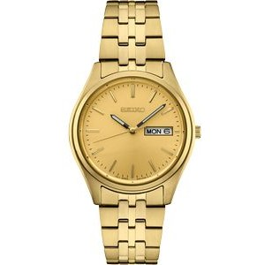 Seiko Men's Gold Bracelet Watch