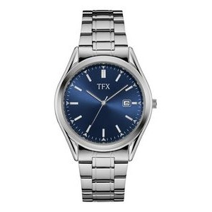TFX by Bulova Men's Corporate Collection Watch with Blue Dial