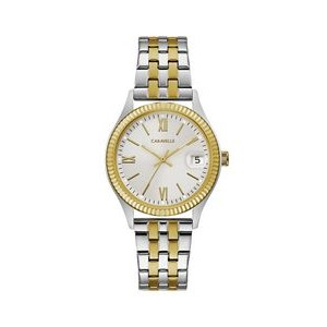 Caravelle by Bulova Ladies' Watch with two tone band