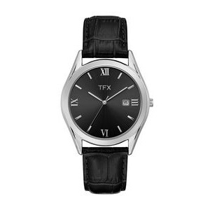 TFX by Bulova Men's Leather Band Corporate Collection Watch