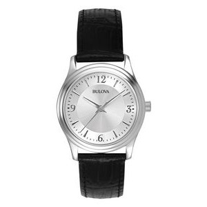 Bulova Ladies' Corporate Collection Leather Band Watch
