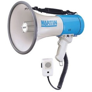 1000 Yard Range Hand/Shoulder Held Megaphone