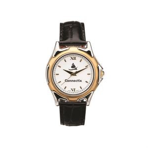The St Tropez Watch - Mens - White/Gold/Black