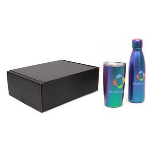 Iridescence 17 Oz. Water Bottle & 20 Oz. Tumbler Gift Set
