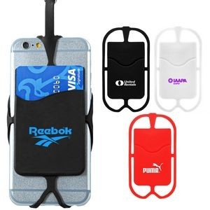 Silicone Smart Phone Neck Wallet (Direct Import-10 Weeks Ocean)