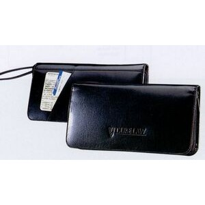 Atlantis Leather Travel Wallet (black)