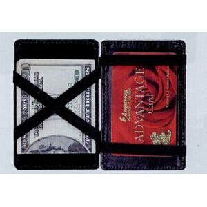Atlantis Leather Magic Wallet Card Case