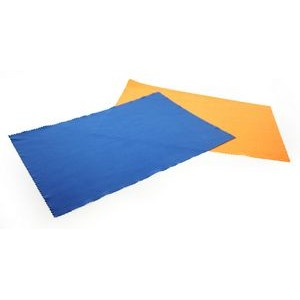 "Debossed 8"" x 12"" Microfiber Cloth"