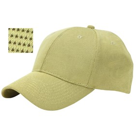 Fahrenheit® Structured Mid Profile Bamboo Cap w/ Mesh Lining