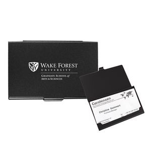 Flat Cover Business Card Case-Close out