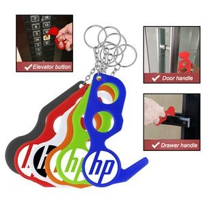 PPE Door Opener Closer No Touch w/ Key Chain
