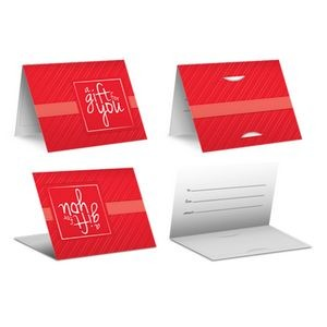 Red Stripe - PrePrinted Card Carriers
