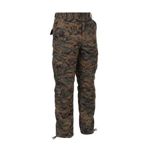 Woodland Digital Camouflage Vintage Paratrooper Fatigue Pants (S to XL)