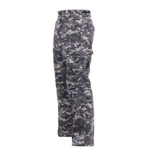 Subdued Urban Digital Camouflage Vintage Paratrooper Military Fatigue Pants (S to XL)