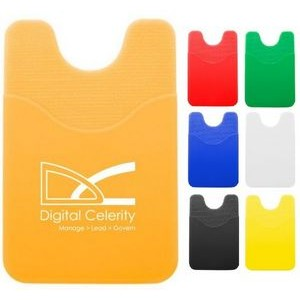 Silicone Smart Phone Wallet Holder