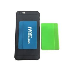 Silicone Phone Wallet w/ Side Pocket