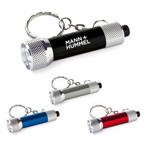 Mini Aluminum 3 LED Keychain