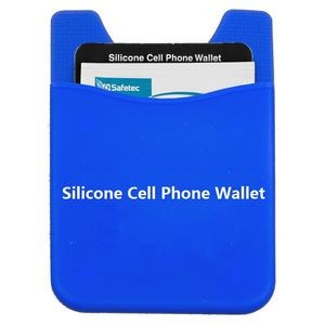 Silicone Cell Phone Wallet Holder