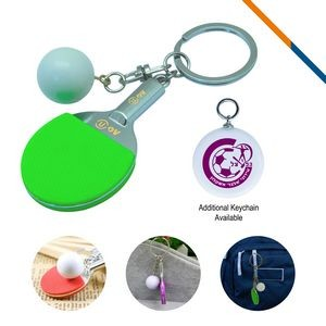 Golf Clubs Keychain-Green